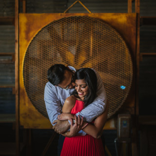Vinita & Alok's Midtown Engagement Session